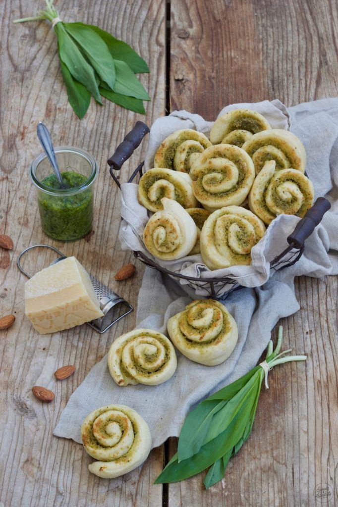 Bärlauchschnecken als Fingerfood gemacht nach einem Rezept von Sweets & Lifestyle®