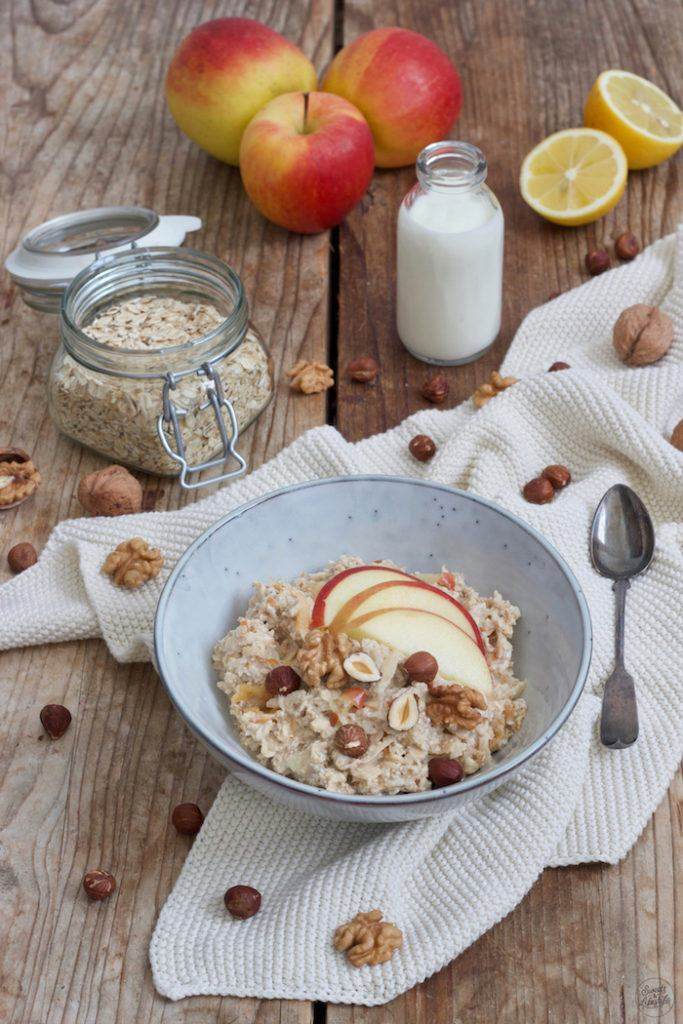 Bircher Müsli nach einem Rezept von Sweets & Lifestyle® als gesundes Frühstück