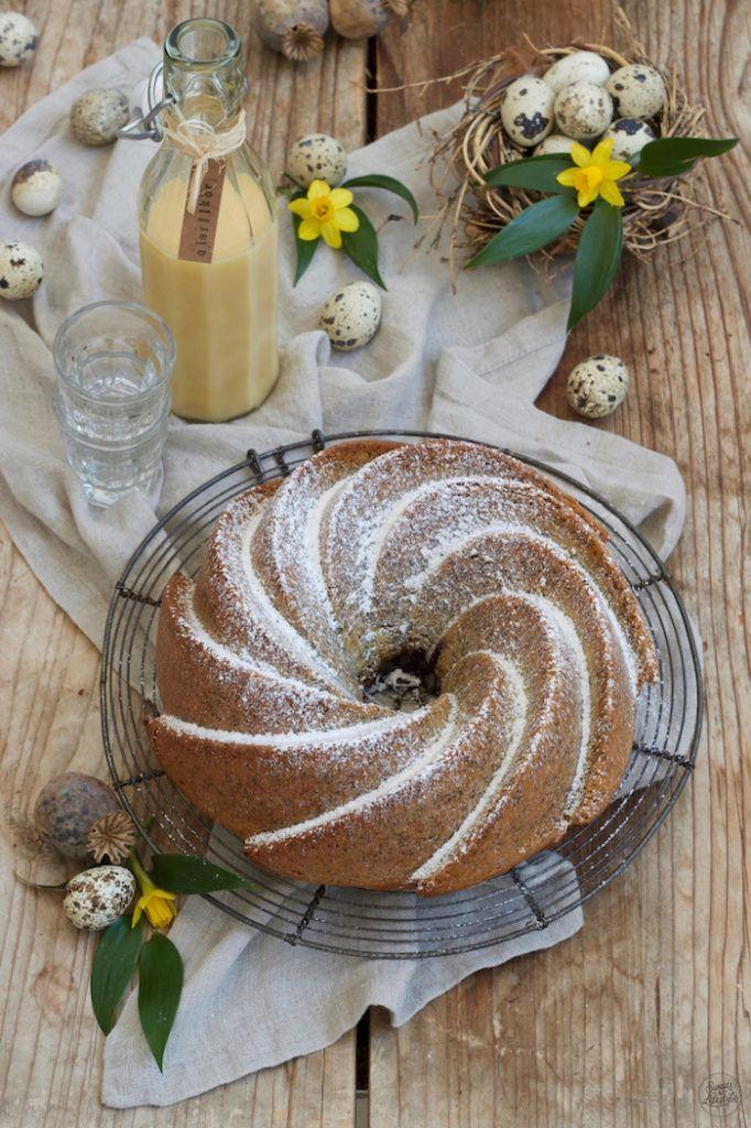 Leckerer Eierlikör-Gugelhupf mit Mohn nach einem Rezept von Sweets & Lifestyle®