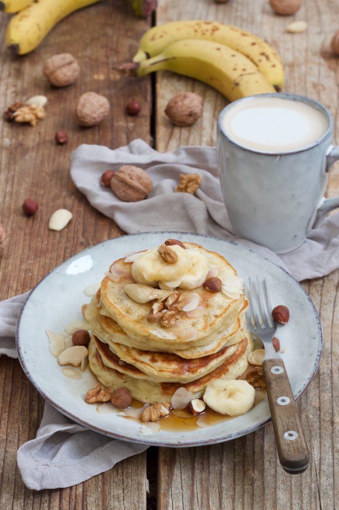 Einfaches und leckeres Bananen Pancakes Rezept von Sweets & Lifestyle®
