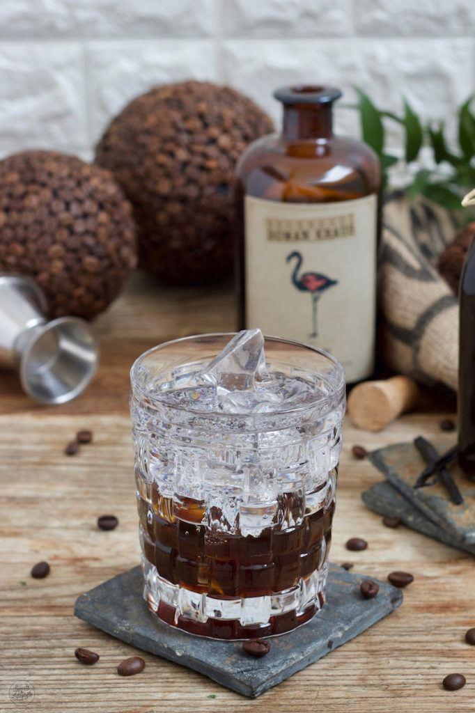 Gin Tonic Coffee Rezept mit Weinviertel Dry Gin von der Brennerei Roman Kraus