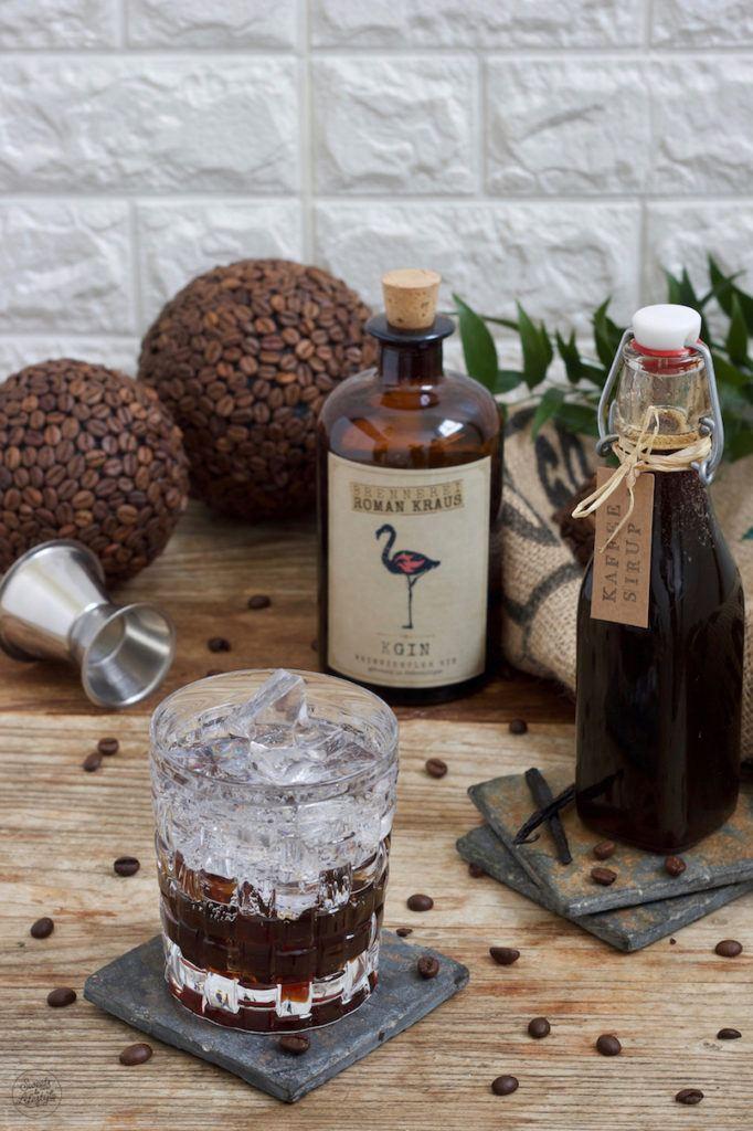 Gin Tonic Coffee mit Weinviertel Dry Gin der Brennerei Roman Kraus nach einem Rezept von Sweets & Lifestyle®