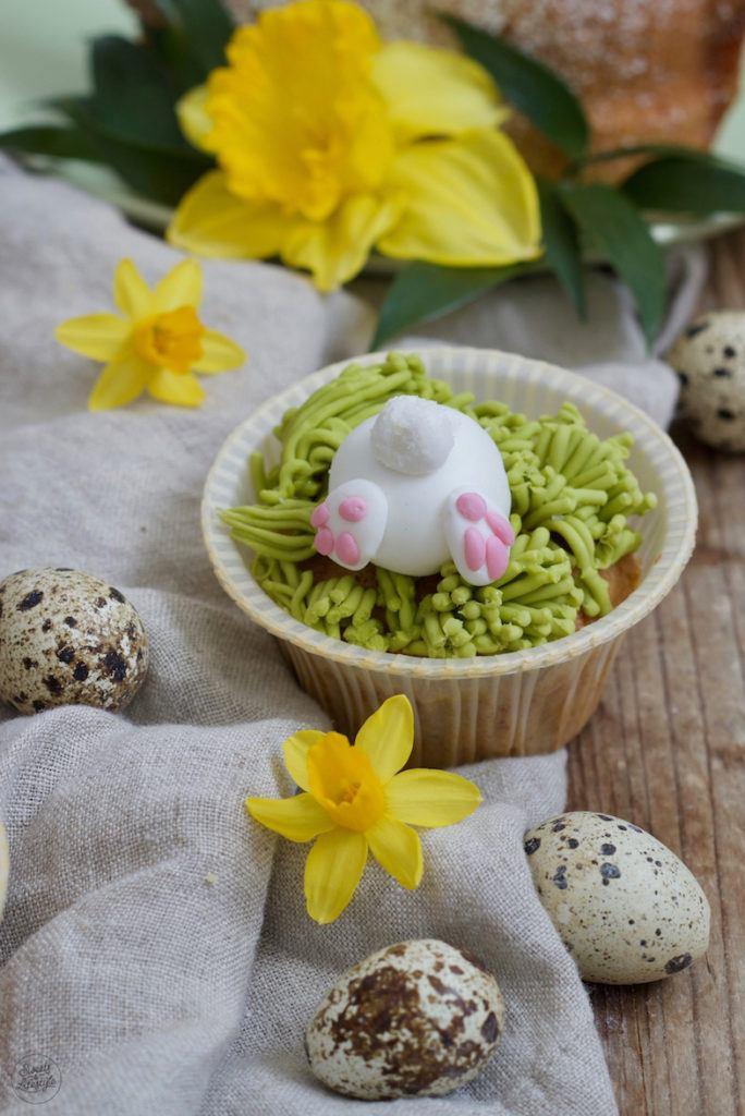 Häschenpopo Muffins als Ostermuffins nach einem Rezept von Sweets & Lifestyle®