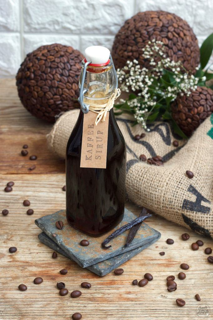 Leckeres Kaffeesirup Rezept mit Vanille von Sweets & Lifestyle®