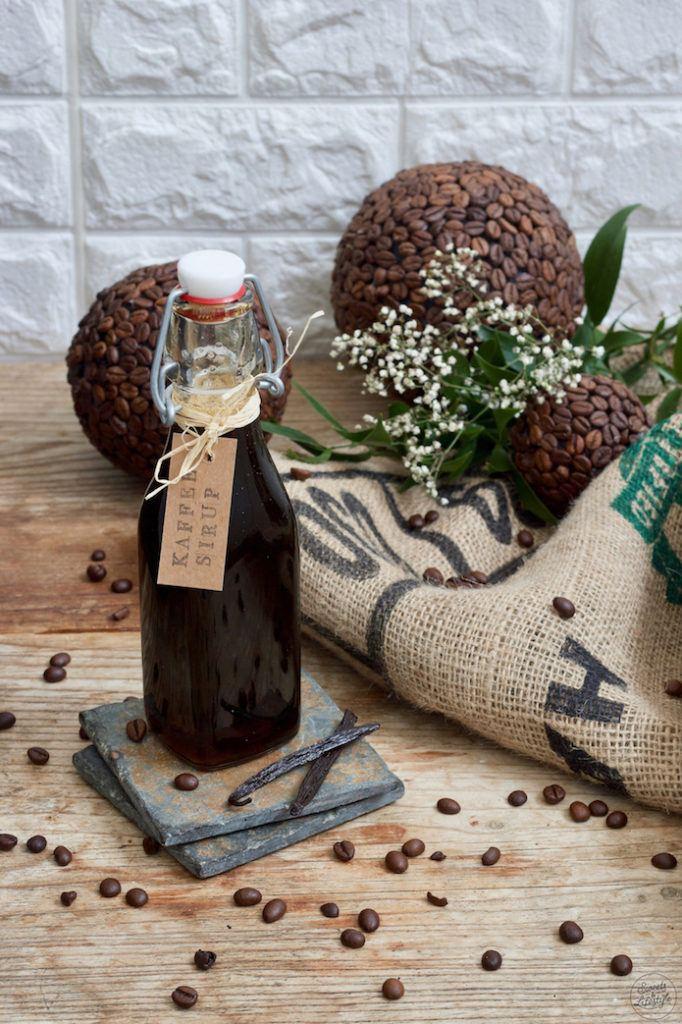 Kaffeesirup mit Vanille nach einem Rezept von Sweets & Lifestyle®