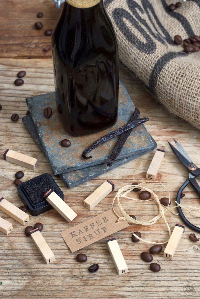 Kaffeesirup selber machen ist ganz einfach nach dem Rezept von Sweets & Lifestyle®
