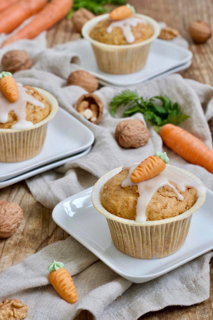 Leckeres Karottenmuffins Rezept mit Öl von Sweets & Lifestyle®