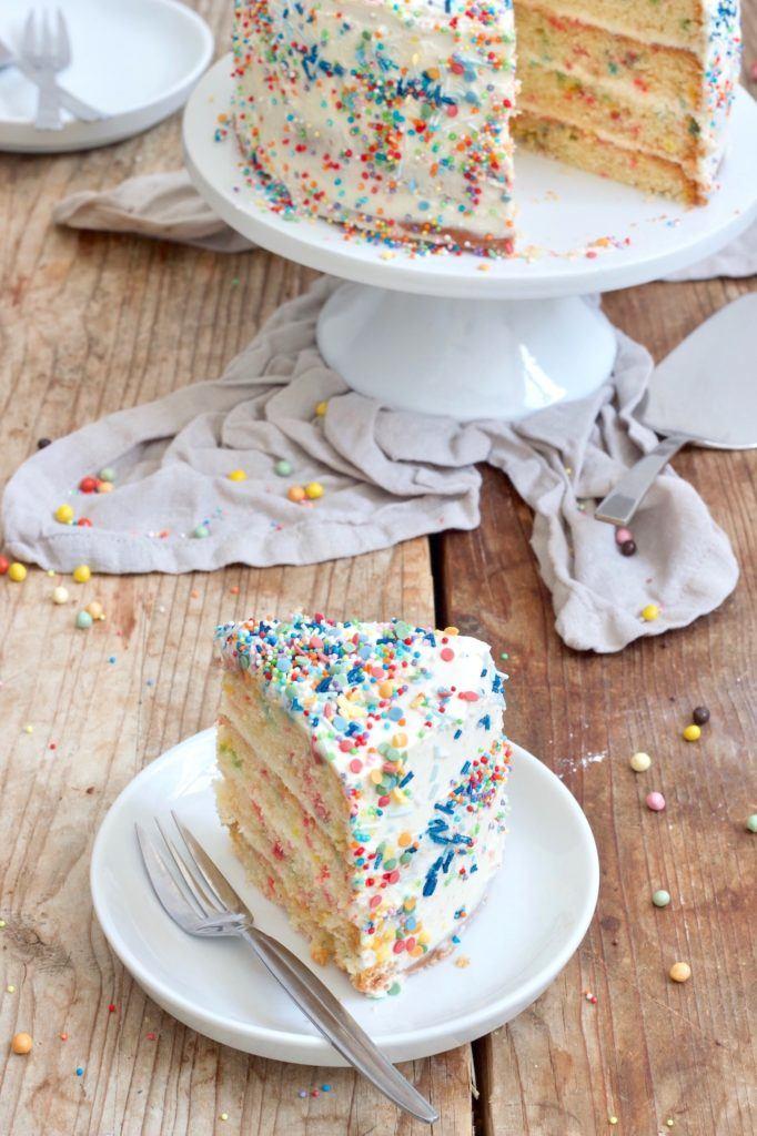 Schnelles und einfaches Konfettikuchen Rezept von Sweets & Lifestyle®