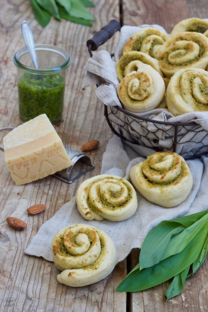 Leckere Bärlauchschnecken einfach und schnell gemacht nach einem Rezept von Sweets & Lifestyle®