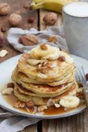 Einfaches Rezept für Bananen Pancakes von Sweets & Lifestyle®