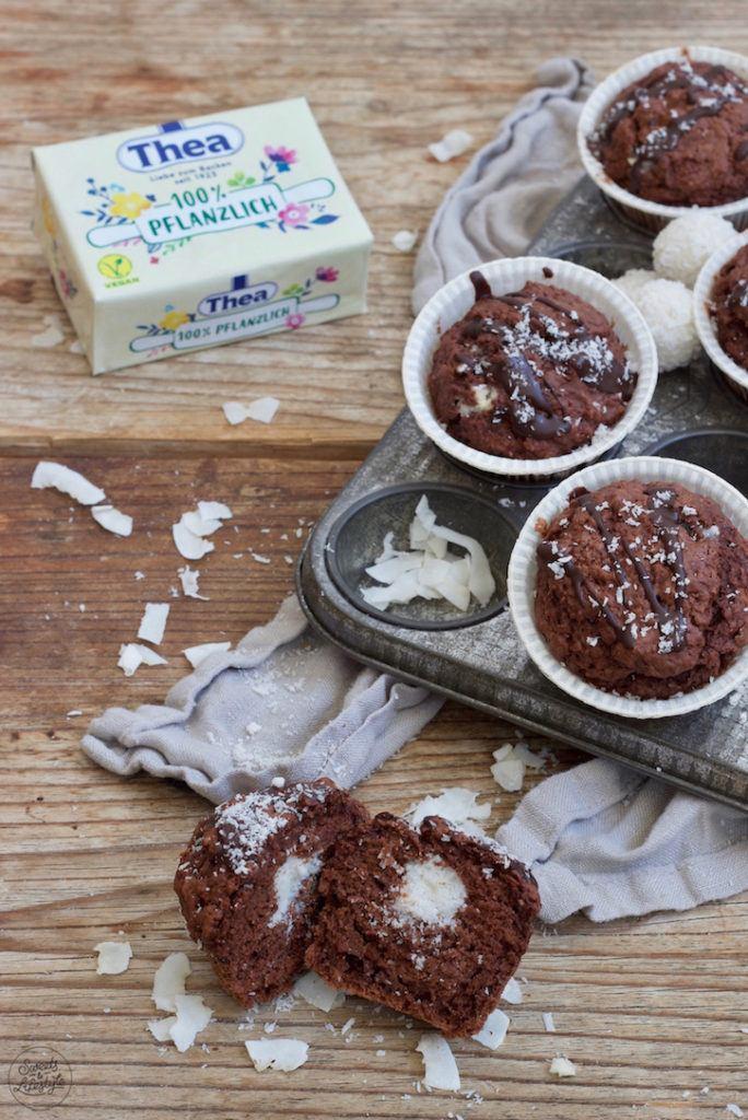 Veganes Schoko-Kokos-Muffins Rezept von Sweets & Lifestyle®