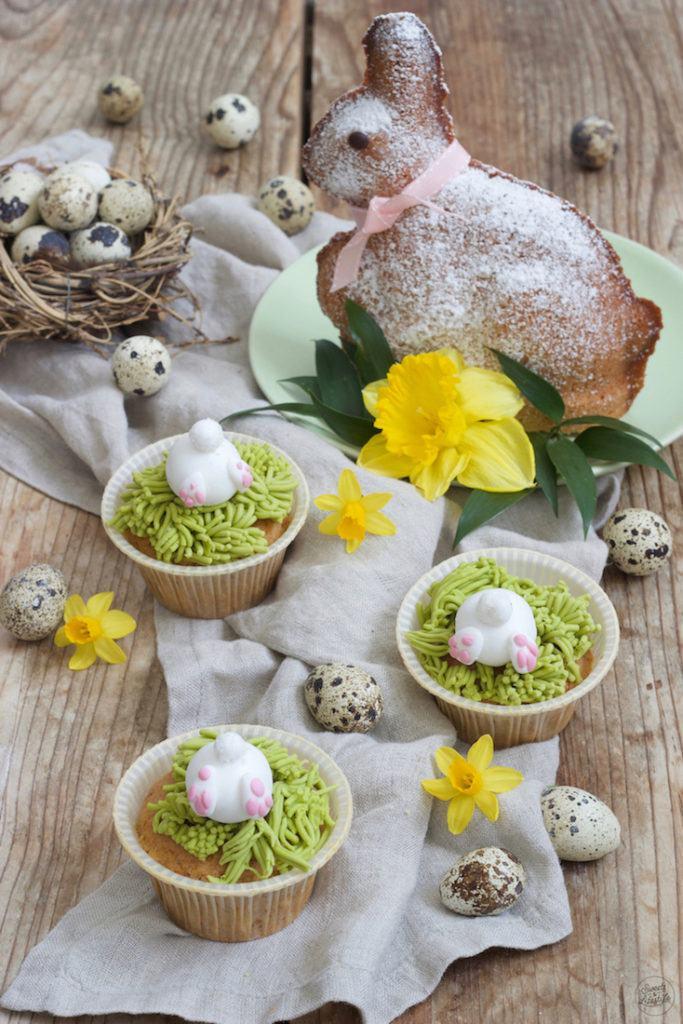 Süße Hasenpopo Muffins als Ostermuffins nach einem Rezept von Sweets & Lifestyle®