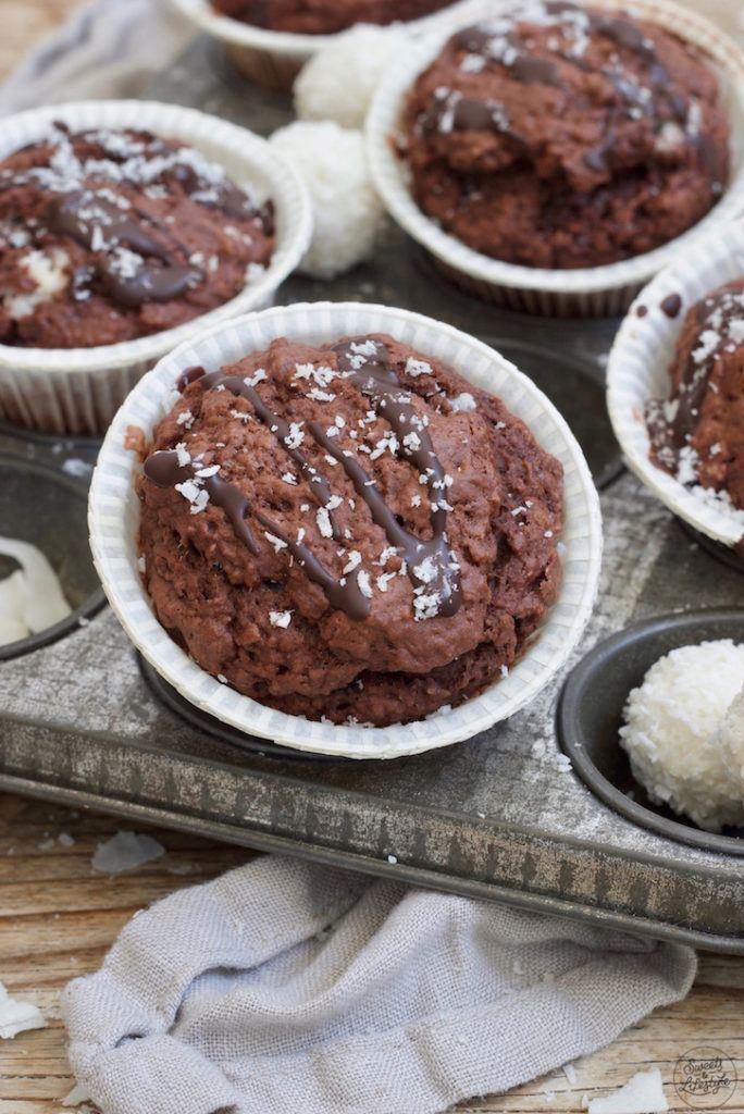 Vegane Schokomuffins nach einem Rezept von Sweets & Lifestyle®
