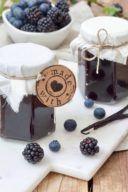 Rezept für eine Heidelbeer-Brombeer-Marmelade von Sweets & Lifestyle®