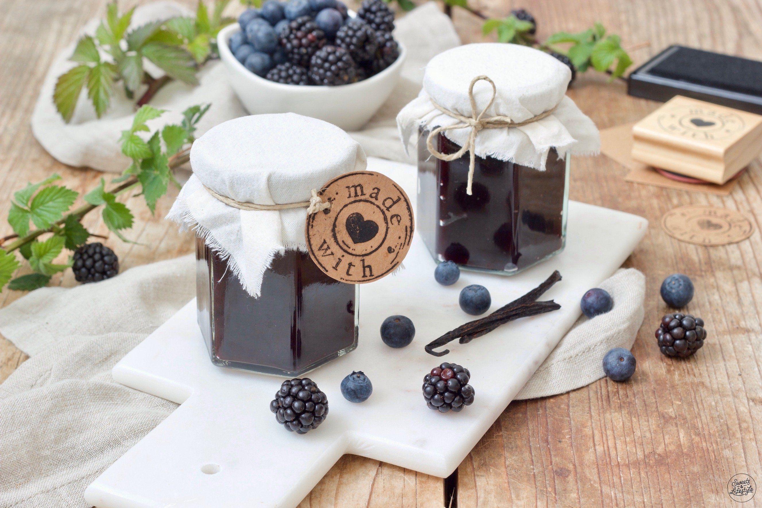 Heidelbeer-Brombeer-Marmelade - Rezept - Sweets & Lifestyle®