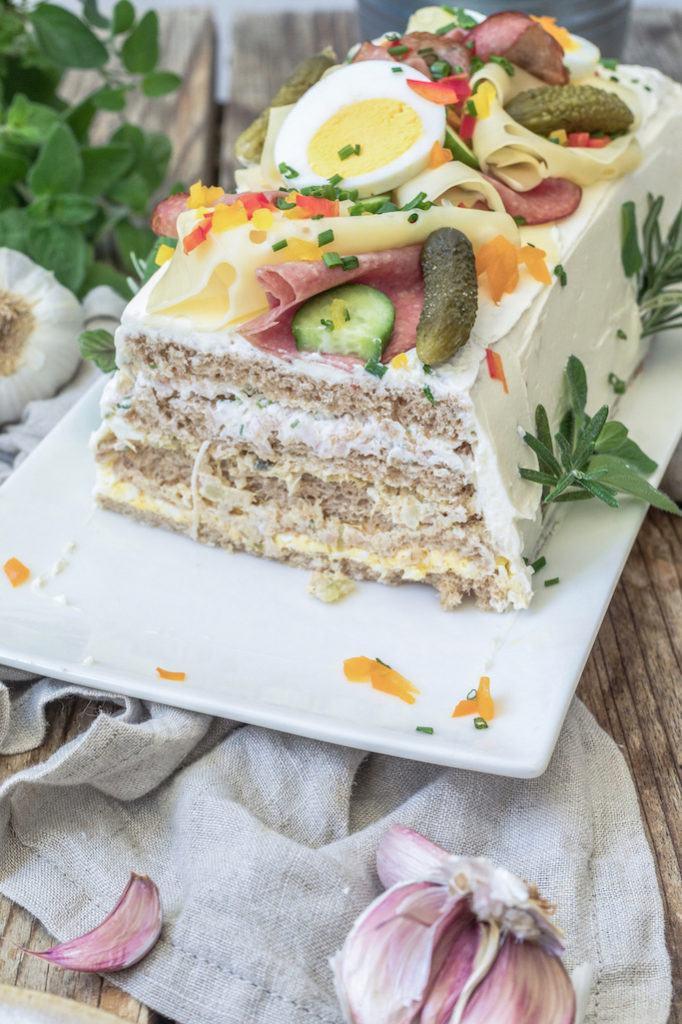 Leckere Brottorte mit Toastbrot nach einem Rezept von Sweets & Lifestyle®