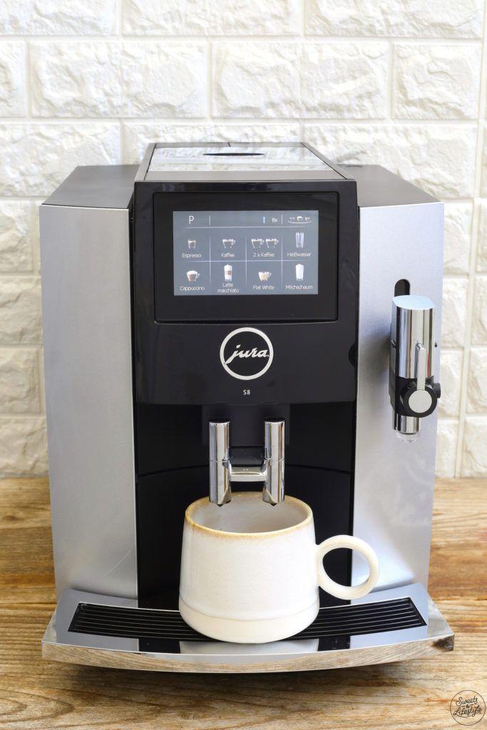 Kaffeevollautomat Jura S8 bei Sweets & Lifestyle®
