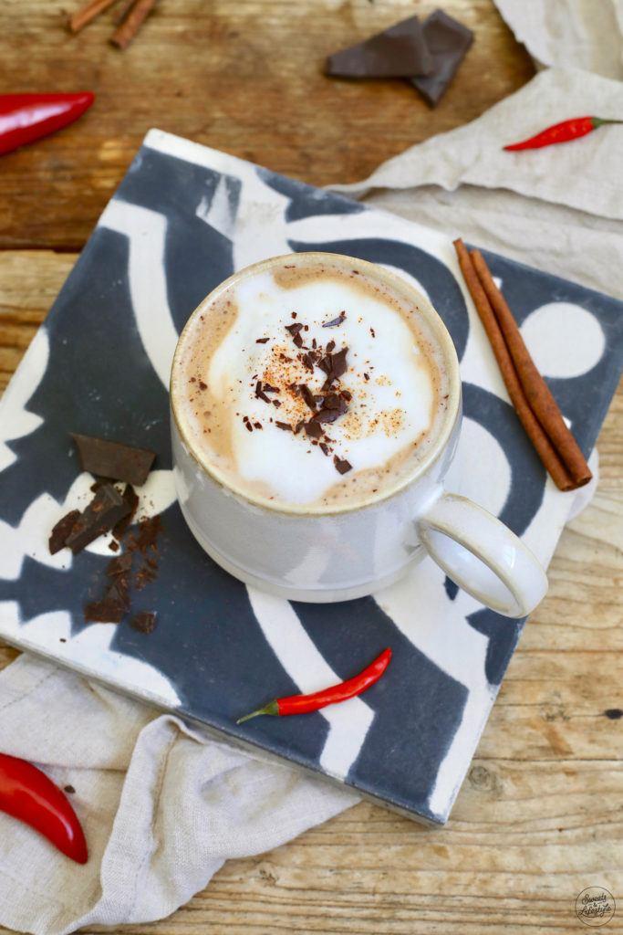 Leckerer Mexican Coffee mit Schokolade und Chili nach einem Rezept von Sweets & Lifestyle®