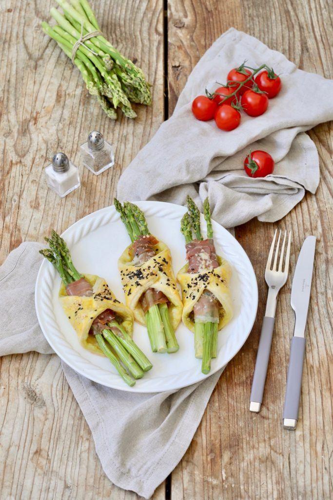 Schnelle Spargeltaschen mit Schinken-Käse-Füllung nach einem Rezept von Sweets & Lifestyle®