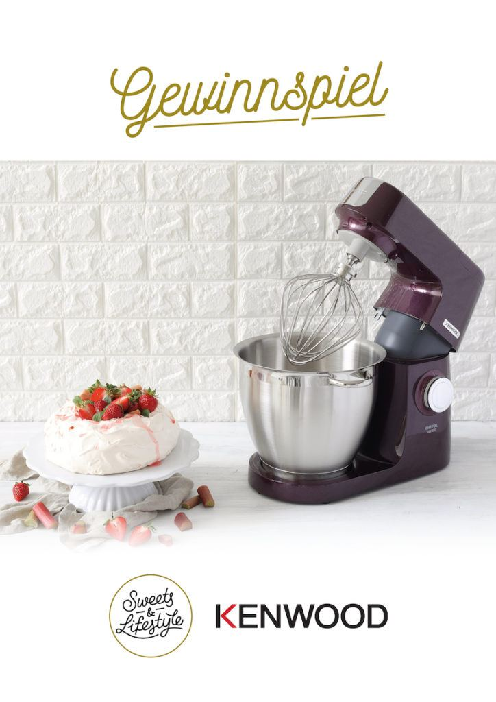 Verlosung einer Kenwood Chef XL Sense Special Edition Fortune Favours the Bold bei Sweets & Lifestyle®