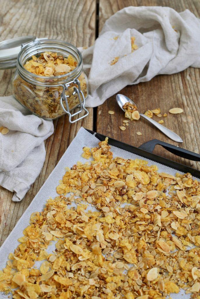 Zuckerfreies Granola selber machen nach dem Rezept von Sweets & Lifestyle®