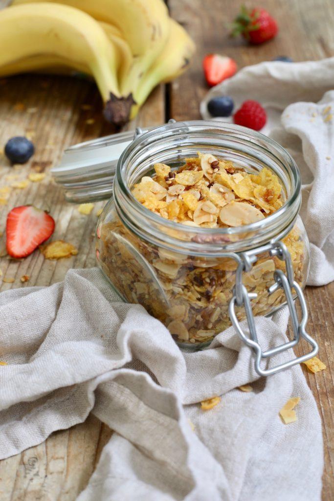 Zuckerfreies Knuspermüsli nach einem Rezept von Sweets & Lifestyle®