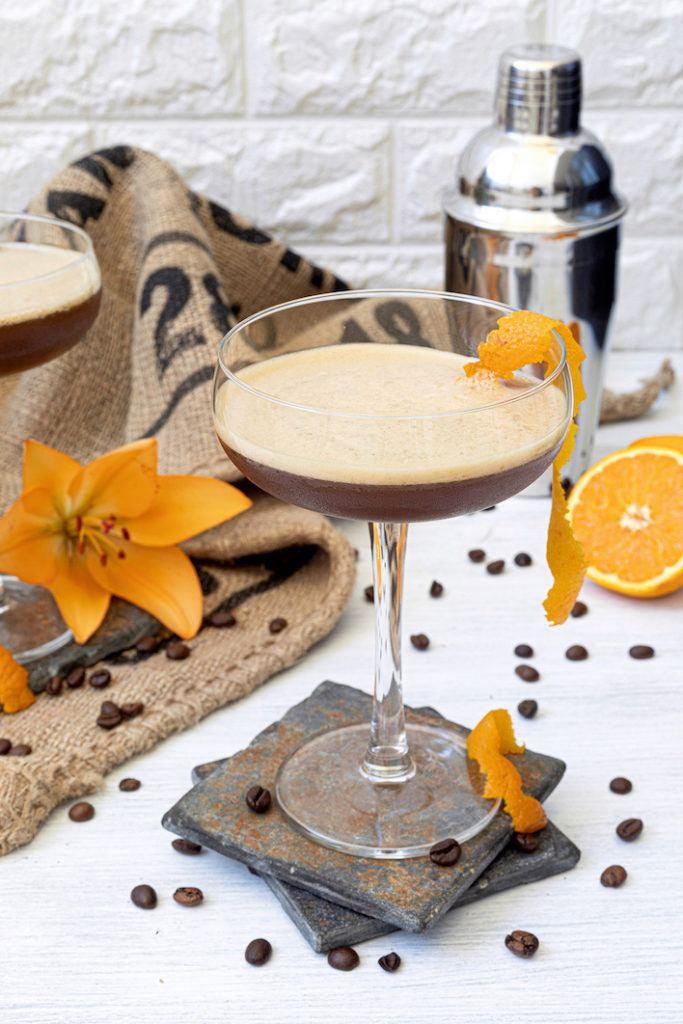 Coffee Sour Cocktail nach einem Rezept von Sweets & Lifestyle®