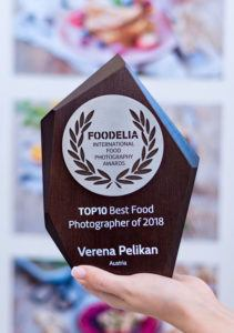 Food Fotografin Verena Pelikan als Foodelia Top10 Best Food Photographer of 2018