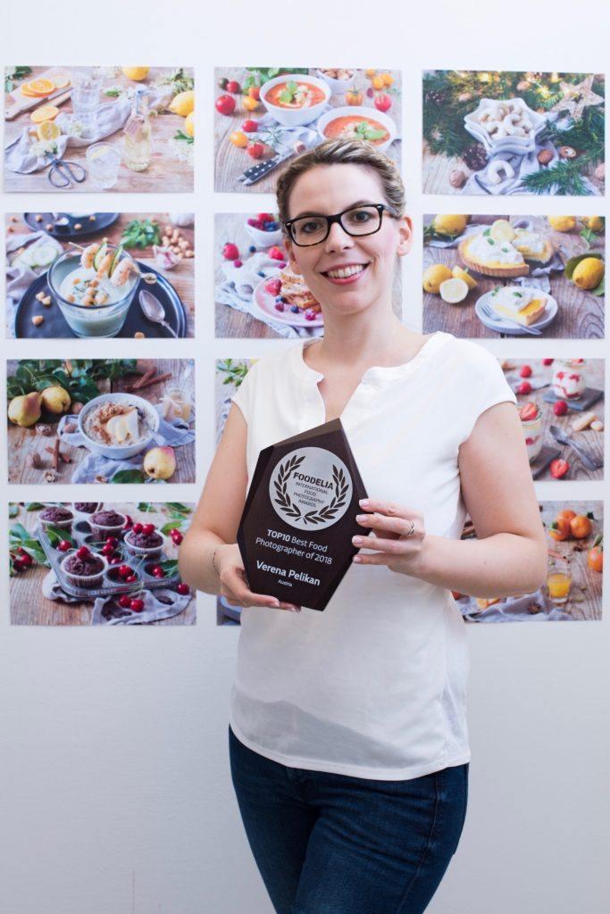 Foodelia Auszeichnung TOP10 Best Food Photographer of 2018 für die Foodfotos von Verena Pelikan