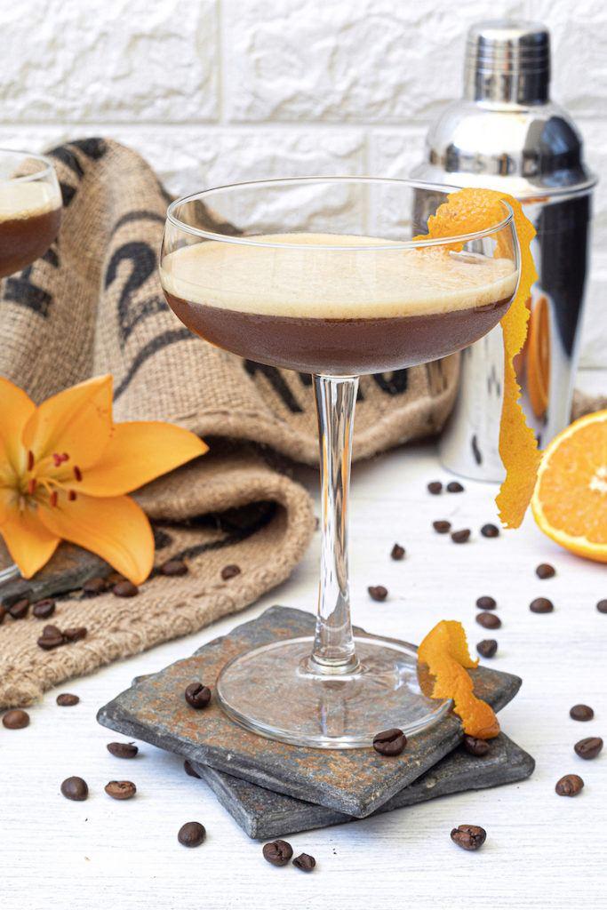Kaffeecocktail Coffee Sour nach einem Rezept von Sweets & Lifestyle®