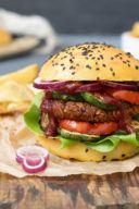 Rezept für einen vegetarischen Kidneybohnen Burger von Sweets & Lifestyle®