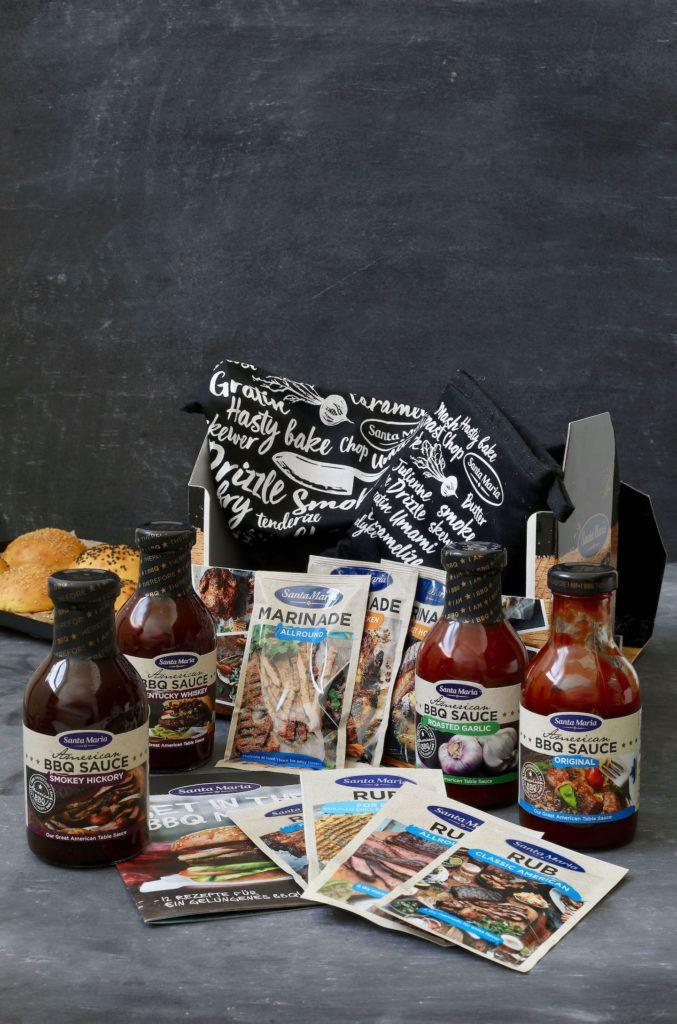 Santa Maria BBQ Produkte