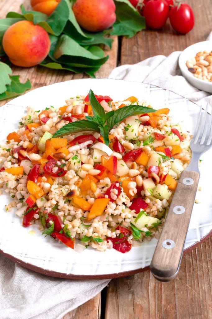 Fruchtiger Tabouleh mit Marillen verfeinert nach einem Rezept von Sweets & Lifestyle®