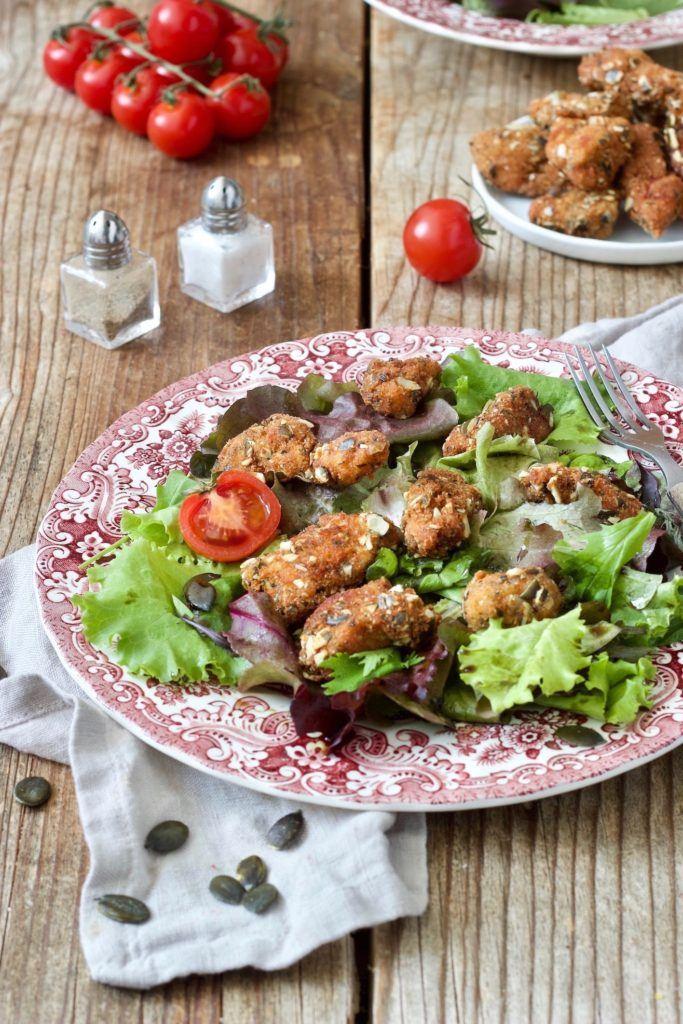 Rezept für Hühnerbruststreifen in Kürbiskernpanier von Sweets & Lifestyle®