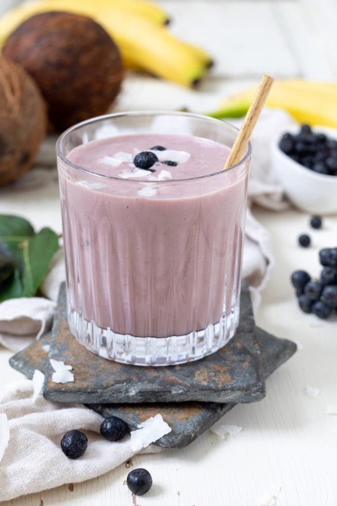 Aronia Kokos Smoothie nach einem Rezept von von Sweets & Lifestyle®