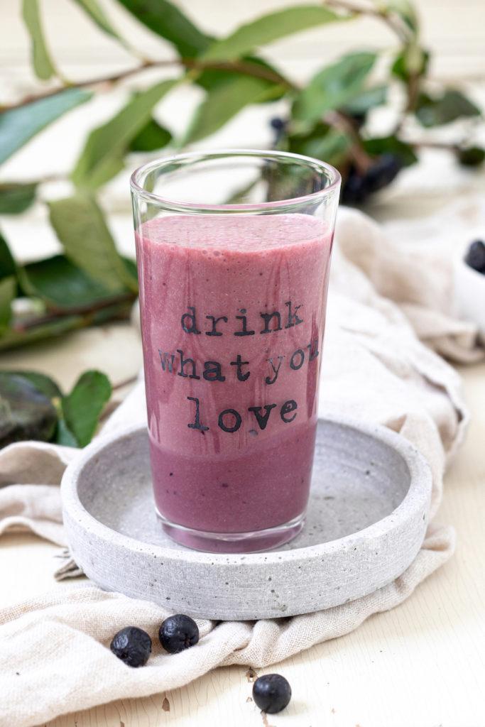 Aronia Milchshake Rezept von Sweets & Lifestyle®