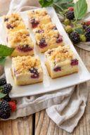 Brombeerkuchen vom Blech mit Streusel nach einem Rezept von Sweets & Lifestyle®