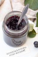 Rezept für eine Aroniamarmelade mit Birnen von Sweets & Lifestyle®