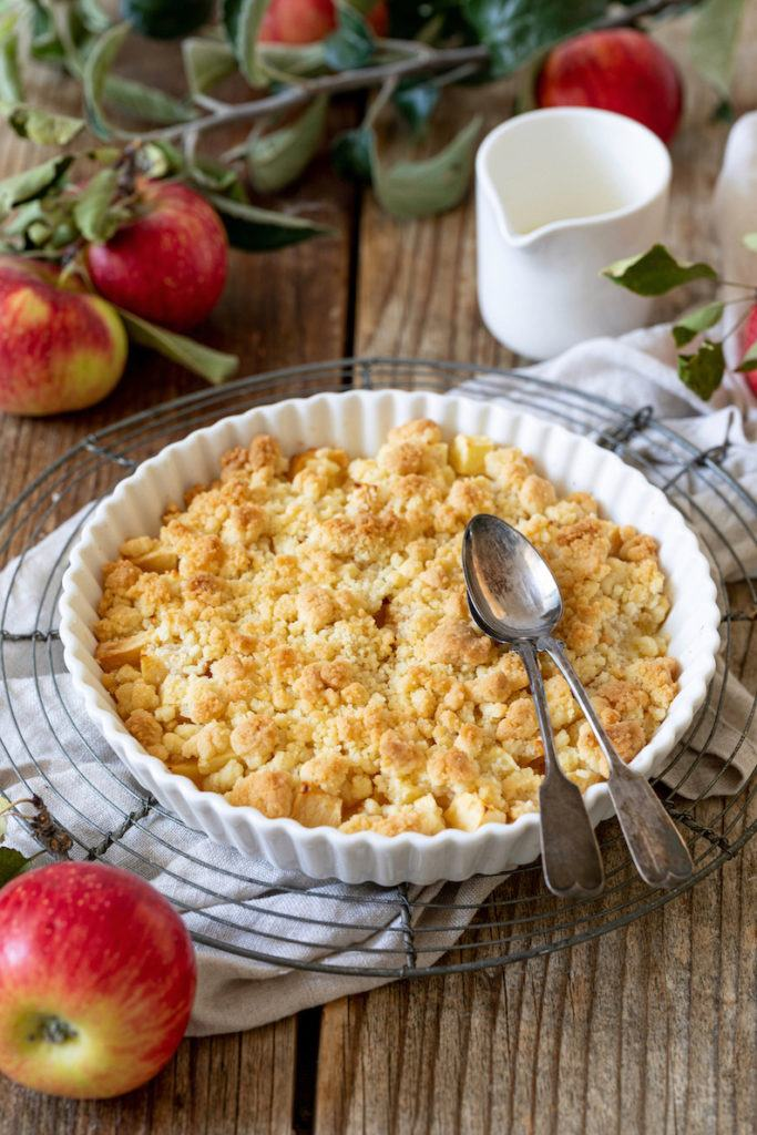 Schnelles Apfel Crumble Rezept von Sweets & Lifestyle®