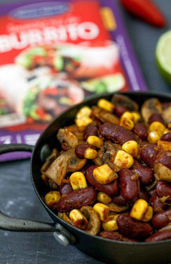 Leckere Burritos Füllung vegetarisch nach einem Rezept von Sweets & Lifestyle®