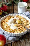 Rezept für einen leckeren Apfel Crumble von Sweets & Lifestyle®