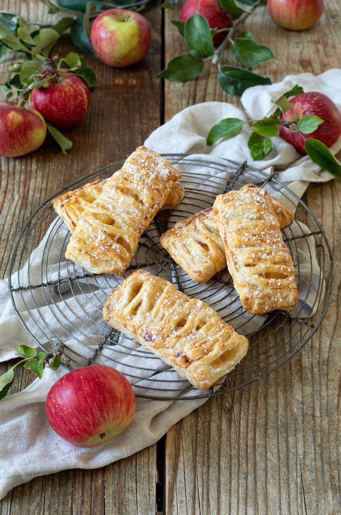 Schnelle Apfeltaschen aus Blätterteig nach einem Rezept von Sweets & Lifestyle®