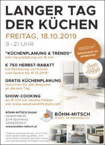 Show Cooking von Verena Pelikan von Sweets & Lifestyle im Möbelhaus Böhm-Mitsch