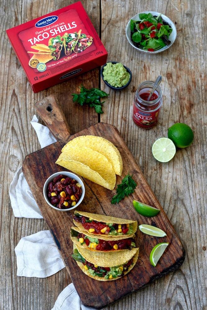 Taco Shells mit vegetarischer Füllung nach einem Rezept von Sweets & Lifestyle®