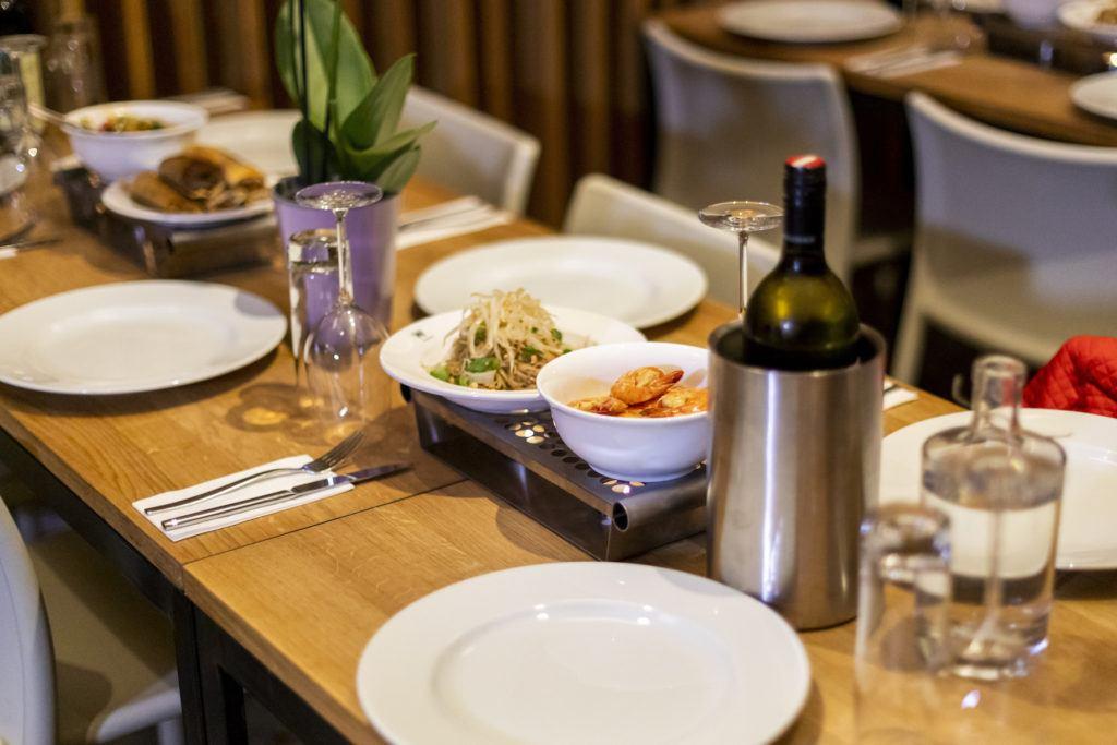 Leckeres Thai Essen zubereitet mit Shan' Shi Produkten