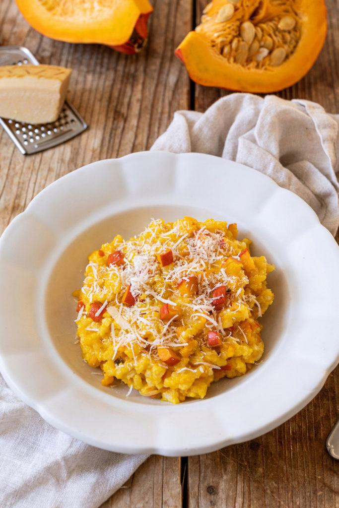 Leckeres Kürbisrisotto mit Parmesan nach einem Rezept von Sweets & Lifestyle®