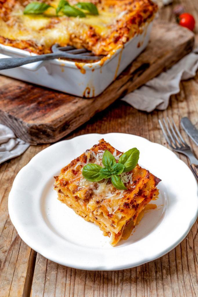 Lasagne Bolognese Rezept mit Bechamelsosse von Sweets & Lifestyle®