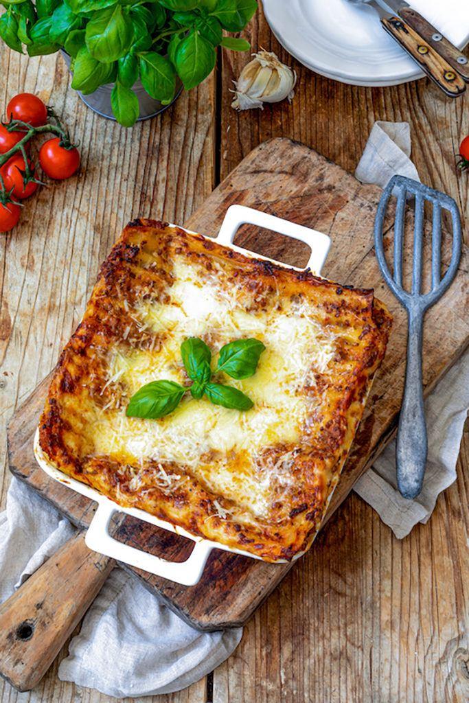 Lasagne Bolognese mit Bechamelsosse nach einem Rezept von Sweets & Lifestyle®