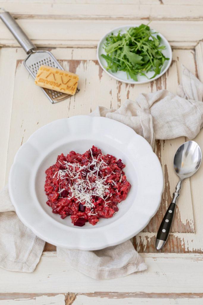 Leckeres Rote Rüben Risotto nach einem Rezept von Sweets & Lifestyle®