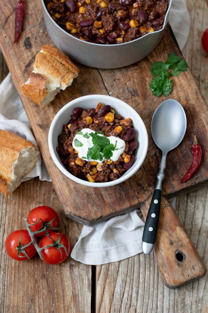 Leckeres einfaches Chili Con Carne Rezept von Sweets & Lifestyle®